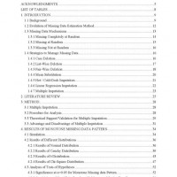 Apa Style Sample Paper With Table Of Contents